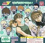 Bandai Gundam Wing Shin Kidou Sneki Capsule Rubber Character Mascot Keychain ~2