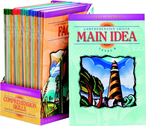 Steck-Vaughn Comprehension Skill Books: Complete Classroom Library