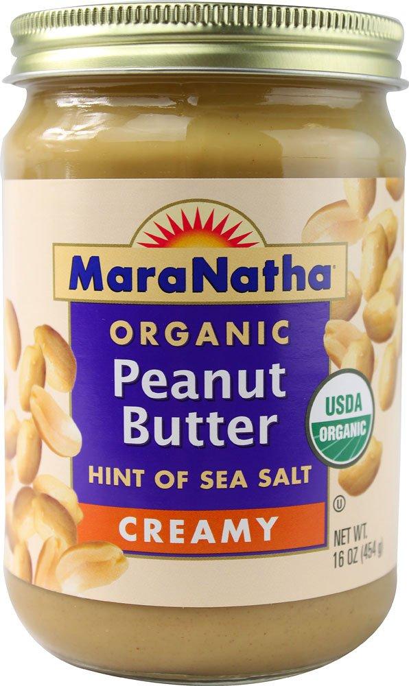Maranatha Organic Creamy Peanut Butter Salt ( 12x16 OZ)