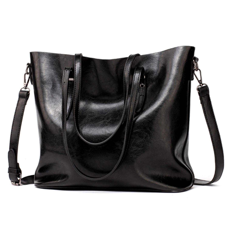 b95294e41c6d Amazon.com  Chibi-store Women Leather Handbags Lady Large Tote Bag Female  Pu Shoulder Bags Bolsas