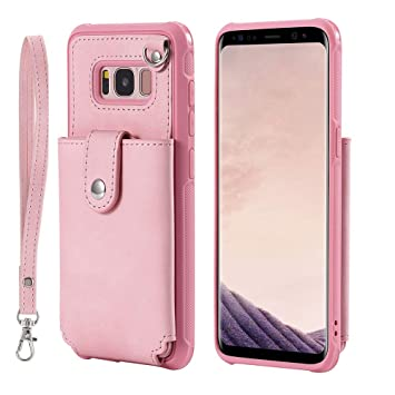 Cuitan Funda para Samsung Galaxy S8, Funda Caso Leather ...