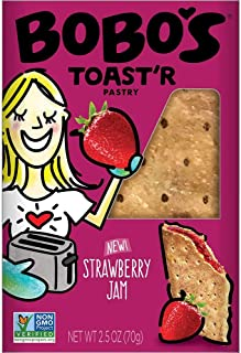 product image for Bobos Strawberry Jam Toaster Pastry, 2.5 Ounce -- 48 per case.