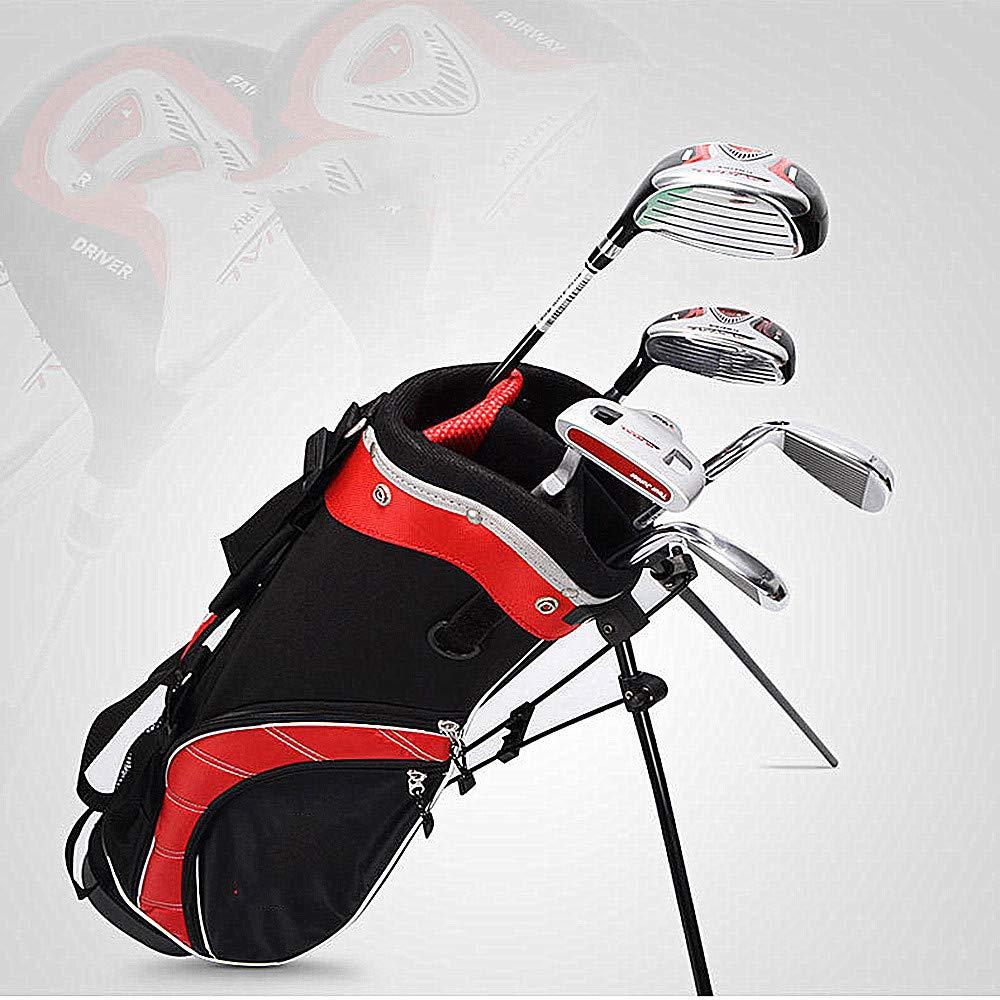 Mitrc Club de Golf para niños, Juego Completo de Clubes de ...