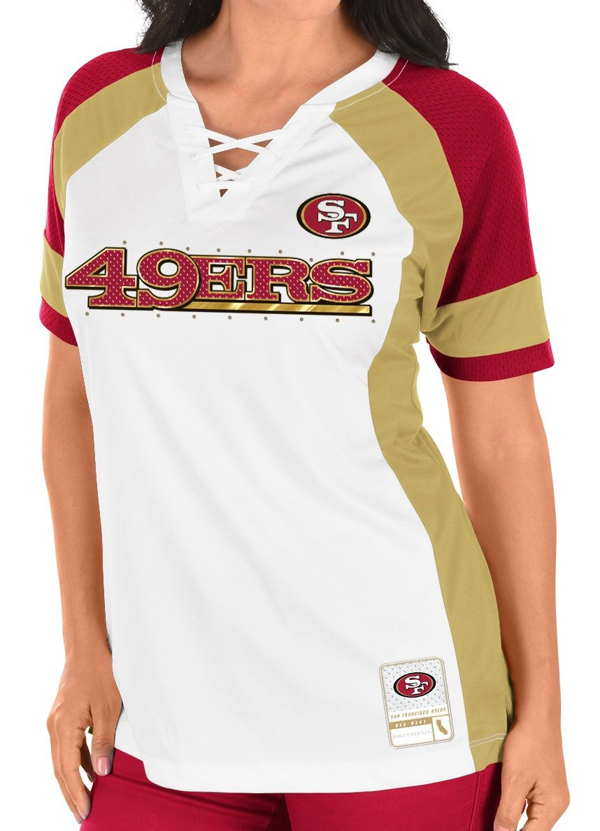 9bba44f5e50 San Francisco 49ers Women s Majestic NFL