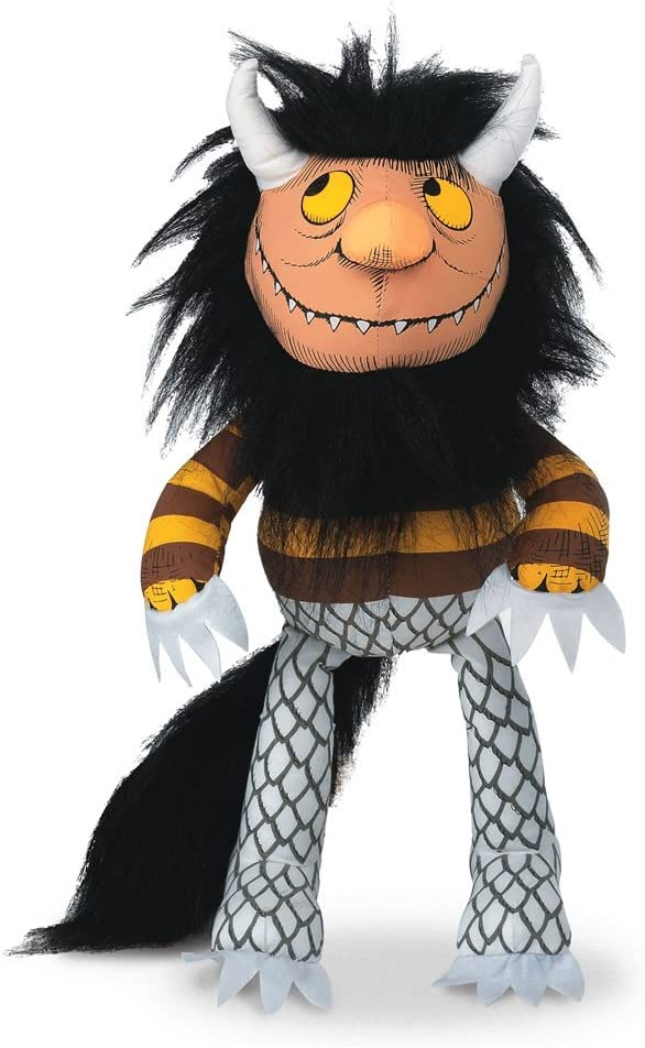 Crocodile Creek Where die Wild Things sind Moishe Puppet, 14""