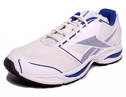 4d9dc554e2c0 Reebok Men s City Runner Lp Wht RBK Royal SLV Running Shoes - 7 UK ...