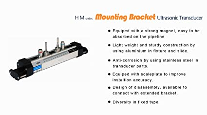 BYQTEC HS Ultrasonic Mounting Bracket Clamp-on Type