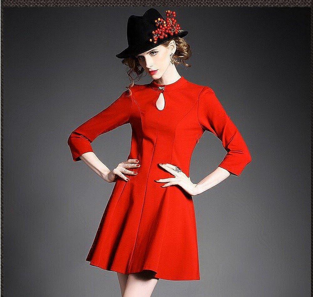 Angel/&Lily Fall Winter Combo Jersey/& lace Dress plus1x-10x