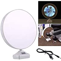 IBGift Magic Mirror Cum Photo Frame with LED Light for Home Decor