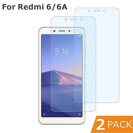 xinyunew [2 Piezas] Protector Pantalla Xiaomi Mi 8,Premium Importaciones japonesas [2.5d Borde Redondo] [9H Dureza] [Alta Definicion] Cristal Vidrio ...