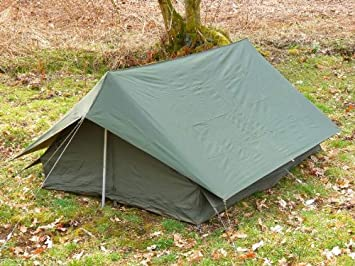 French Army F1 2-Person Ridge Tent - USED Grade 1 & French Army F1 2-Person Ridge Tent - USED Grade 1: Amazon.co.uk ...