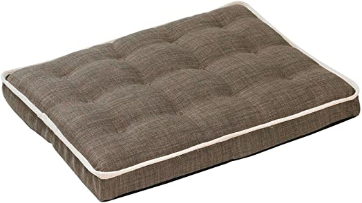 Bowsers Luxury Crate Mattress Dog Bed, Small, Driftwood