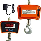 Crane Scale, TBVECHI Industrial Digital Crane Scale Hanging Weight Measure 500 KG / 1100 LBS