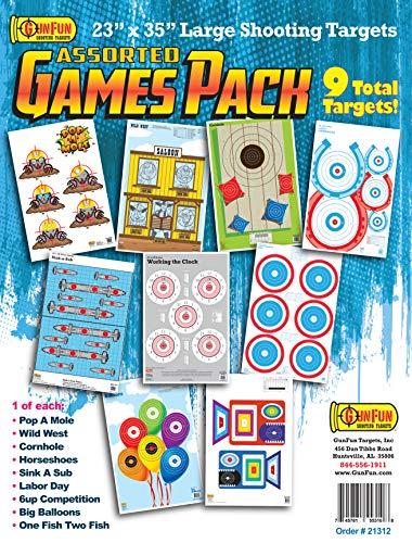 GunFun Targets, Inc. Assorted Games Pack