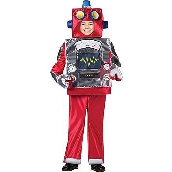 Rasta Imposta Retro Robot Costume Child 7-10  sc 1 st  Amazon UK & Rasta Imposta Retro Robot Costume Child 7-10: Amazon.co.uk: Toys u0026 Games
