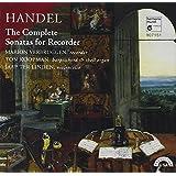 HANDEL. Recorder Sonatas. Verbruggen/Koopman/ter Linden