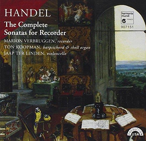 - Handel: The Complete Sonatas for Recorder