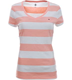 Tommy Hilfiger - Camiseta - Mujer Apricot-weiß M