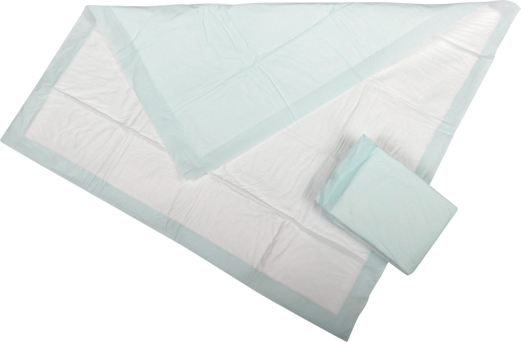 Medline Heavy Absorbency 30'' x 36'' Quilted Fluff And Polymer Disposable Underpads, 75 Per Case, Great For Protecting Beds, Furniture, Surfaces