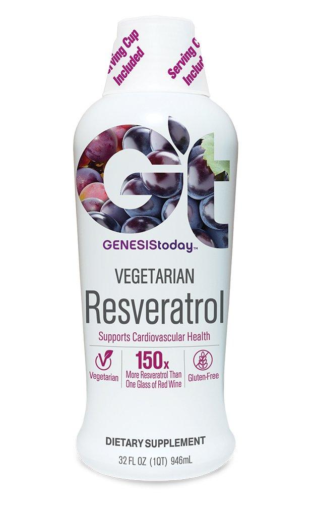 Genesis Today Vegetarian Resveratrol, 32 servings
