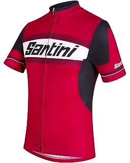 1b0e39885 Santini Men Tau Short Sleeve Printed Jersey