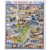 White Mountain Puzzles American Revolution - 1000 Piece Jigsaw Puzzle