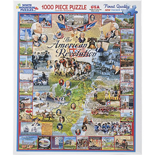 White Mountain Puzzles American Revolution