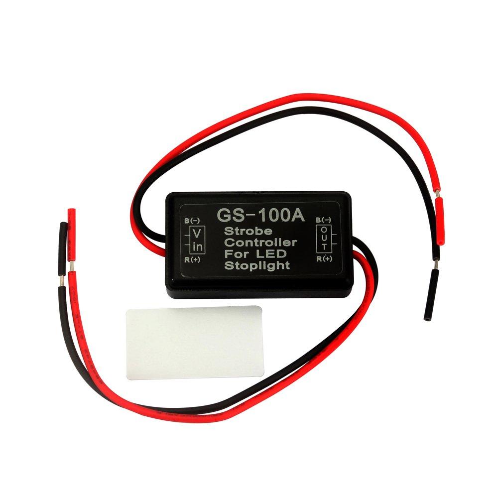 Streifen ourleeme Wireless Remote Control Modul 12/V W//Strobe Flash Auto der LKW-Fahrzeug Auto LED Leuchten