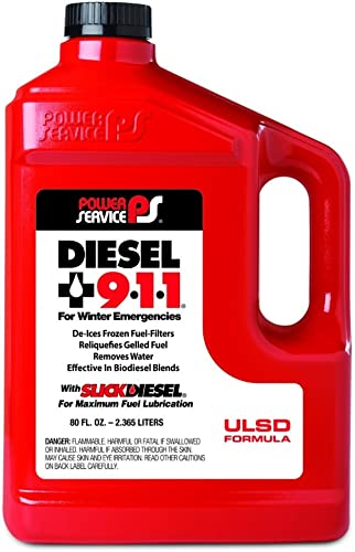 Power Service 08080-06 Diesel 911 Fuel Additive