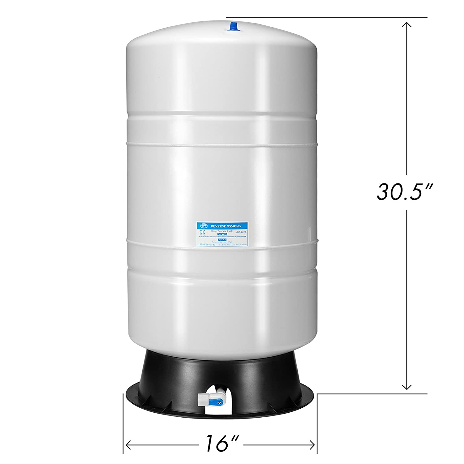 Amazon iSpring 20 gallon tank with 14 gallon Storage Capacity