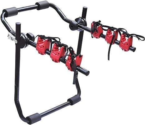 eSituro Portabici Posteriore per Auto Supporto Bici Portapacchi Portabicicletta Pieghevole capacit/à Fino a 3 Bike Nero SBC0006-X