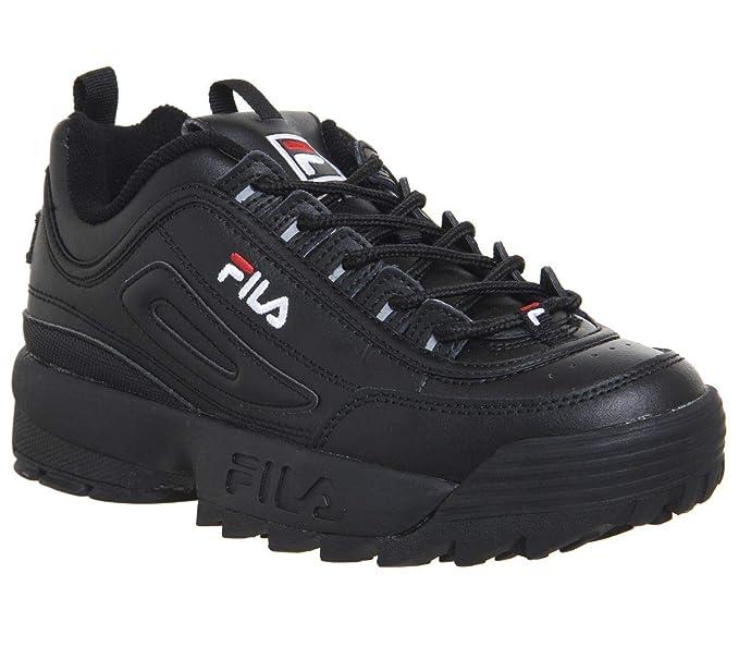 afc7efb37 Fila Mujer Blanco Disruptor II Premium Zapatillas  Amazon.es  Zapatos y  complementos