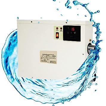 Amazon.com: Termostato calentador de agua eléctrico para ...
