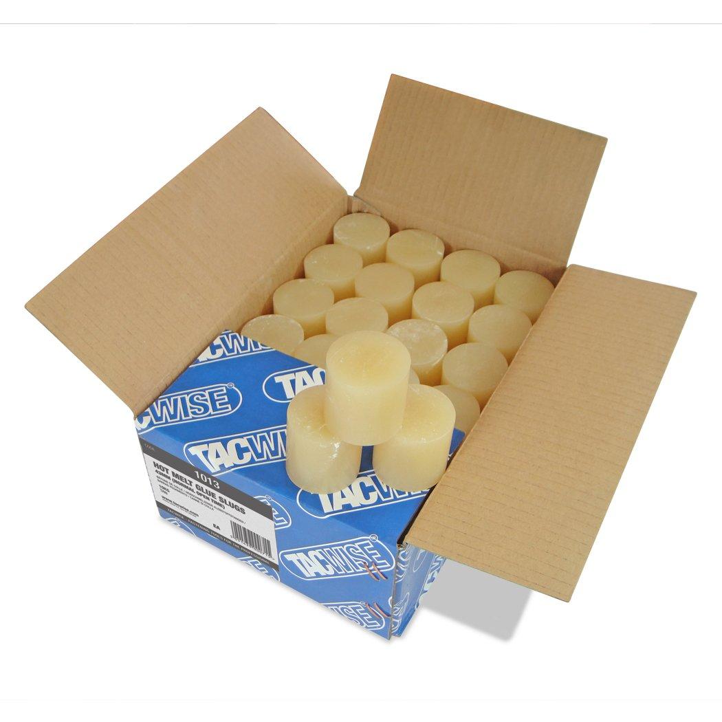 Tacwise 1013 43 x 43m Hot Melt Glue Slugs (Pack of 168) - Tan