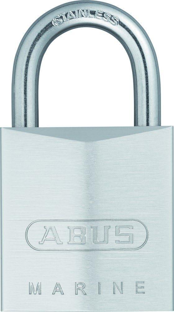 Candado cromado llave de seguridad arco Inoxidable 50mm Abus 75IB//50