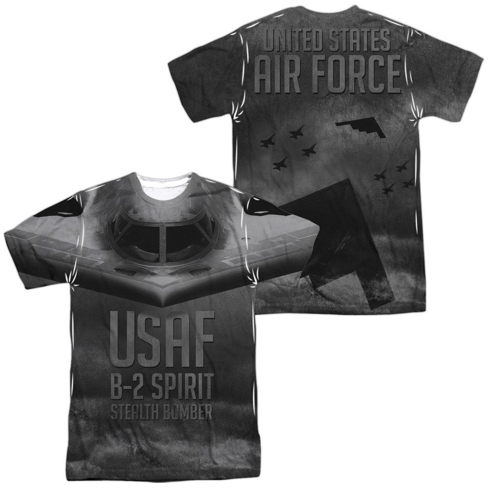 Stealth Adult All Over Print 100/% Poly T-Shirt Air Force