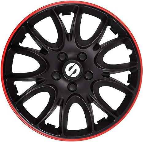 SPARCO SPC1394BKRD Jeu denjoliveurs Veneto 13-inch Noir//Rouge