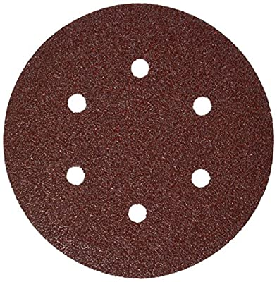 Bosch SR6R040 5-Piece 40 Grit 6 In. 6 Hole Hook-And-Loop Sanding Discs