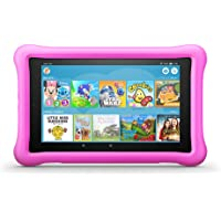 "Fire HD 8 Kids Edition Tablet, 8"" HD Display, 32 GB, Pink Kid-Proof Case"