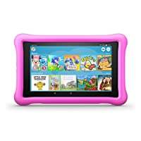 "All-New Fire HD 8 Kids Edition Tablet, 8"" HD Display, 32 GB, Pink Kid-Proof Case"