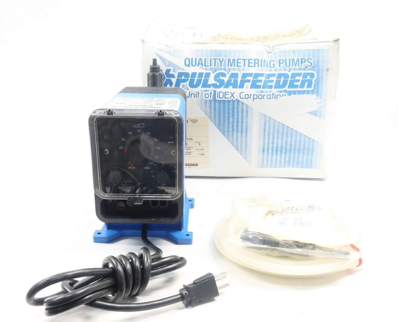 PULSAFEEDER LPB4SA-VTC1-162 PULSATRON METERING Pump 24GPD 100PSI 115V-AC
