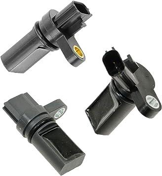 Set Of 3 Camshaft//Crankshaft Position Sensor for Infiniti /& Nissan 3.5L V6