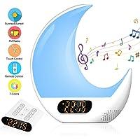 ZOTO - Reloj despertador para niños, con mando
