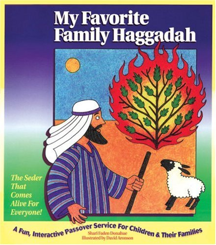 My Favorite Family Haggadah by Brand: Arimax Inc (Image #1)