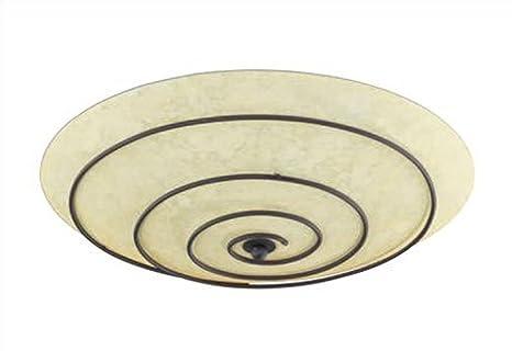 Plafoniera Da Esterno Ruggine : Val1t600900224 80 lampada a soffitto plafoniera metallo ruggine