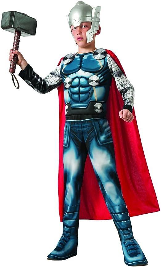 Disfraz thor avengers deluxe talla 8-10 años: Amazon.es: Hogar