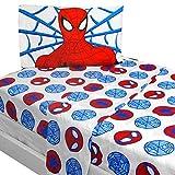 3pc Marvel Comics Spiderman Twin Bed Sheet Set Bold Spider-Man Bedding Accessories