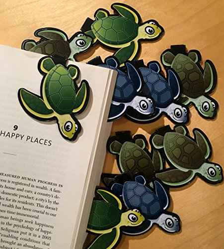 Turtle Bookmarks (Set of 10)