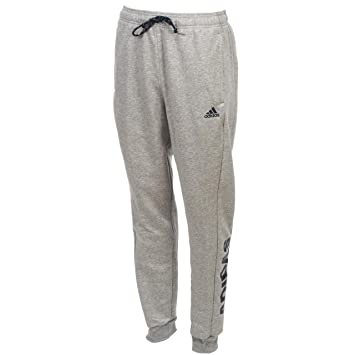 Adidas - Pantalón de muletón GRS/NV - Pantalón de chándal, Gris ...