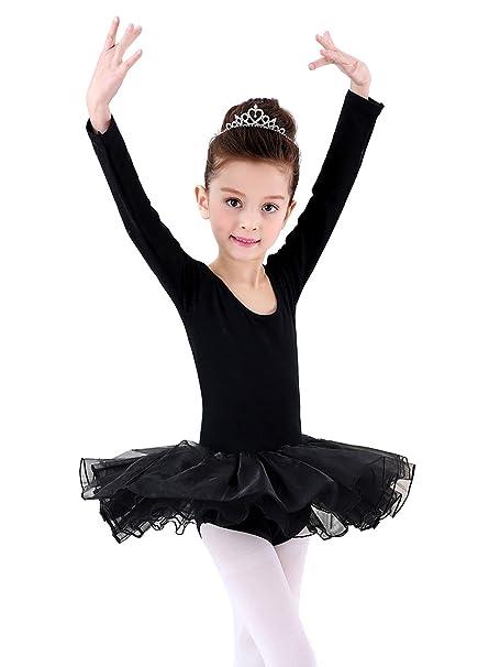 Happy Cherry - Traje de Danza Ballet para Niñas Vestido Falda Tutú ...